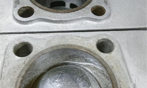 エンジンキャブレターオーバーホール施工例1
