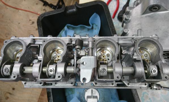 エンジンキャブレターオーバーホール施工例7